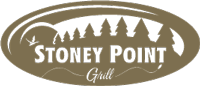 The logo for Stoney Point Grill.