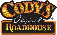 The logo for Cody's Original Roadhouse.