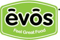 The logo for Evos.