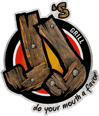The logo for JJ's Bar and Grill.